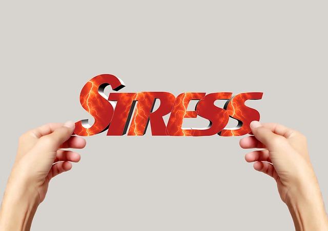 : 接客業のストレス。接客ストレスを増やさないために大切なこと。接客に疲れない方法。ストレスロゴ